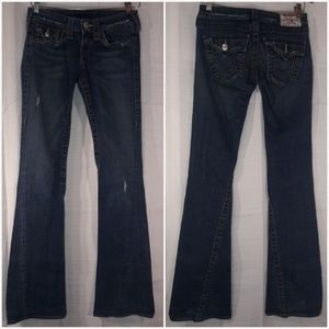 True Religion Joey Twisted bootcut distressed